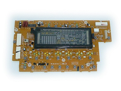 ASSY-PCB,FRONT, MAX-555 AUDIO-ASSY 126