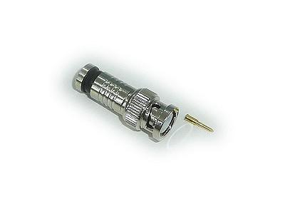 BNC dugó krimpelhető (RG59) Kültéri BNC-018