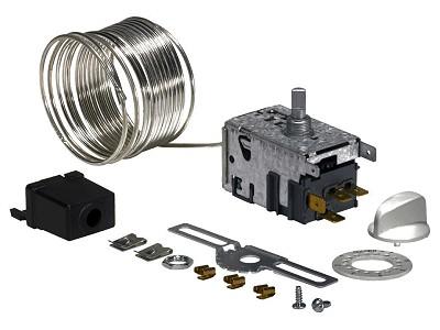 Hűtő, univerzális termosztát, Kapilláriscső: 2000mm W8-09600600