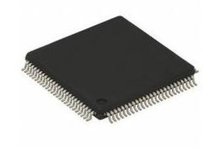 Integrated Flash microcontroller AT91SAM7X256C-AU