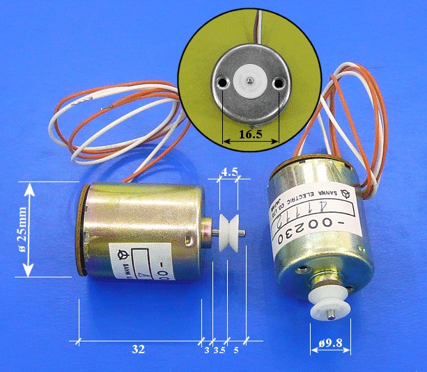 Motor SANYO 4-5254-00230 MOT 012 -