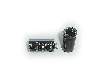 ELKO 1000uF 50V 105°C 12.5x25, rövid lábú (6mm) 1000/50P-105/R