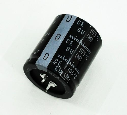 ELKO 390uF 450V 105°C 30x35 2p. Snap-In 390/450P 30X35
