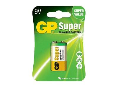 9V 6LF22 GP Super Alkáli tartós elem (bliszter) BAT 6LF22 GP.B