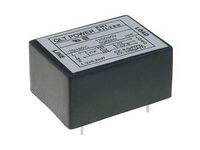 250VAC 6A Hálózati zavarszűrő PCB 5p CSAT-PF-FYF06T6