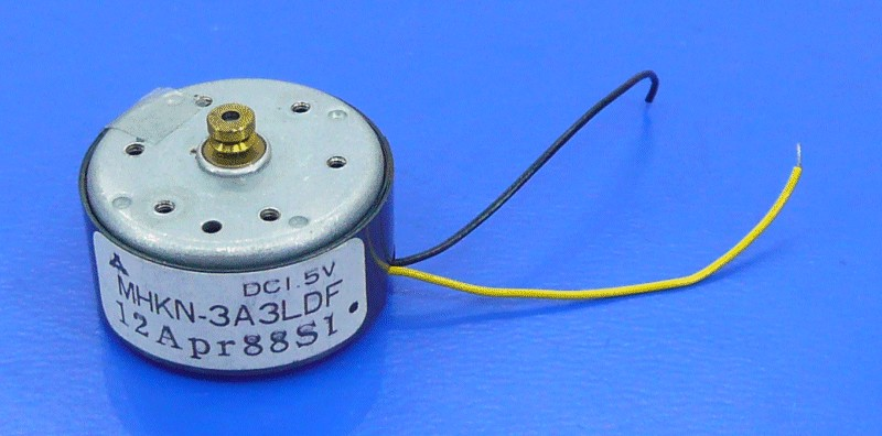 DC Motor 1,5V MHKN-3A3LDF MOT 039 -