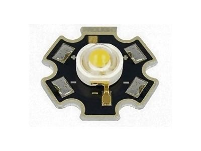 LED SMD 3W fehér 192...249.6lm 130° (csillag) PM2B-3LVS-R7
