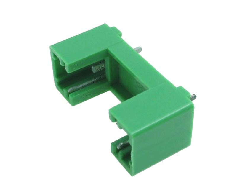 Műanyag biztosíték tartó, 5x20 nyákos 15mm lábtáv, ZH1-15G