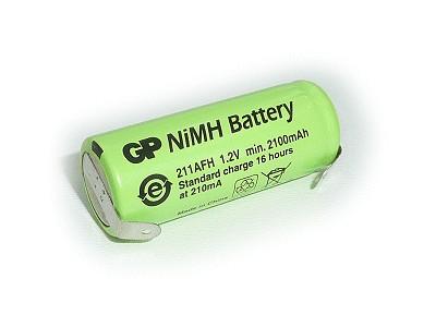 Ni-MH 1.2V 2100mAh akkumulátor 17x43mm 4/5A ACCU-1.2/2110