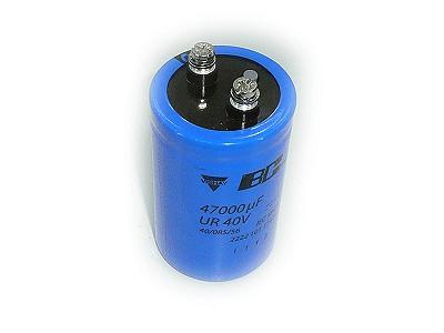 ELKO 47000uF 40V 85°C 50x80 Csavaros (M5) 47000/40P