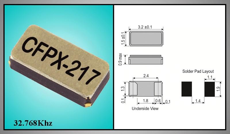QUARTZ 32.768KHz SMD 32.768KHZ SMD1 -
