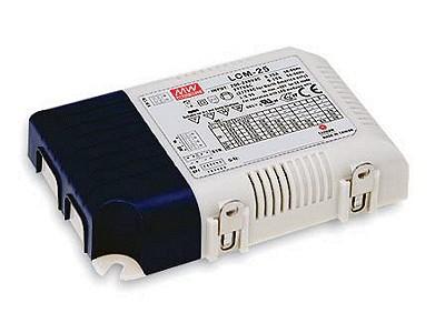 LED áramgenerátoros tápegység 25W/350...1050mA P.SUP.LCM25