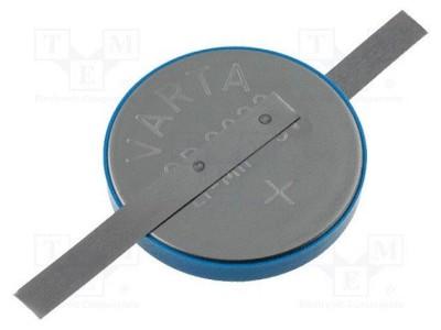 3V elec. Lítium elem (forrasztható) BAT CR2032L