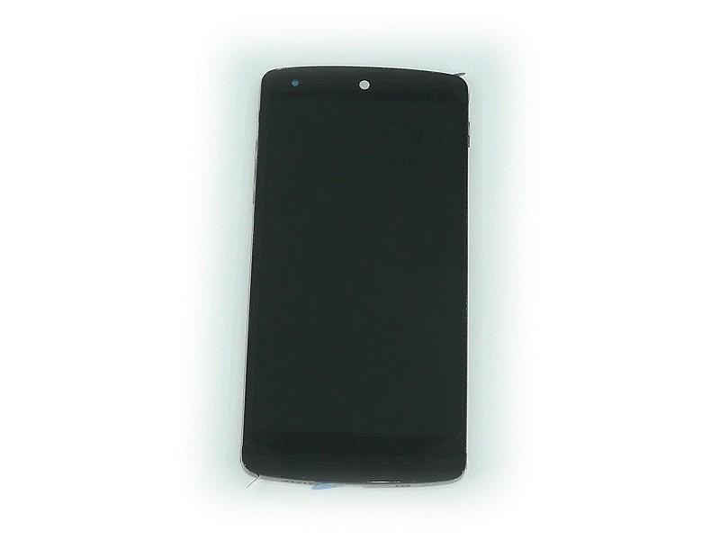 LCD kijelző LG Nexus 5 D821 Fehér GSM-ACQ86661401
