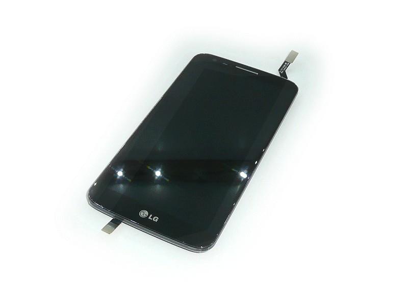 LCD kijelző LG G2 D802 Fekete GSM-ACQ87040901