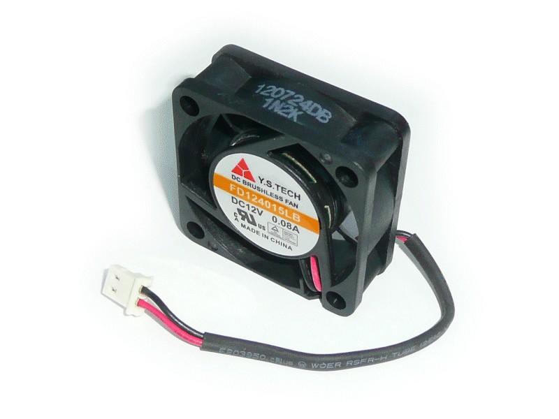 Ventilátor 4.5 KRPM 12V 65ma 2 érintkezős 780mW 40x40x15mm W8-5900RD023D