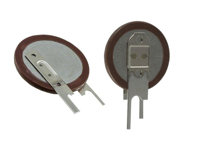 3V 20mAh lítium akkumulátor PANASONIC, álló ACCU VL2020/VCN