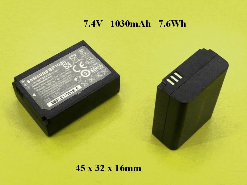 Li-Ion Akkumulátor 7,4V BP1030 ACCU FOT-062 -