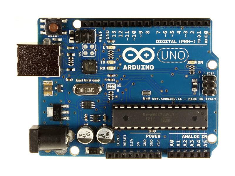 USB Starter kit: demonstrációs, Arduino Uno R3