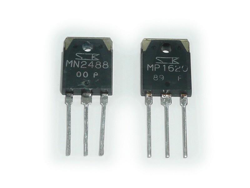 MN2488OPYM + MP1620OPYM komplementer pár MN2488 & MP1620 MN2488 & MP1620