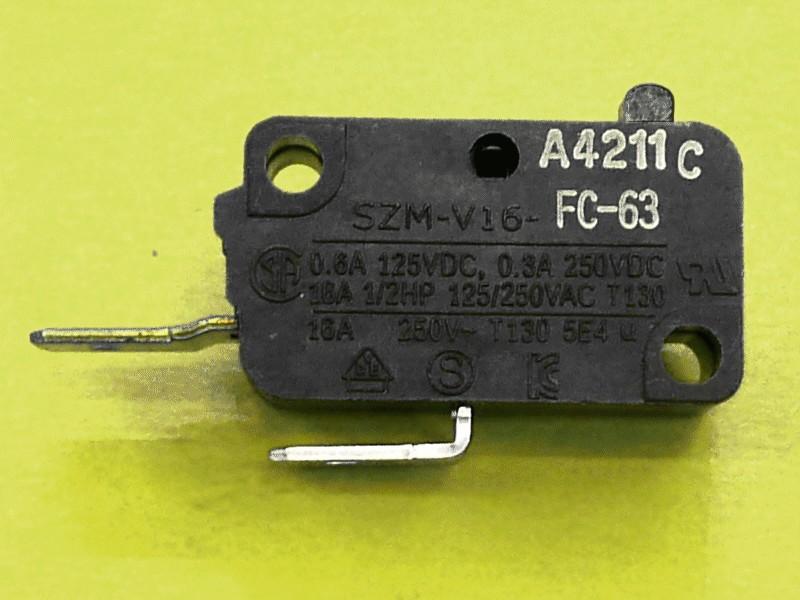 Kapcsoló 16A 250V W9-DD8101223A -