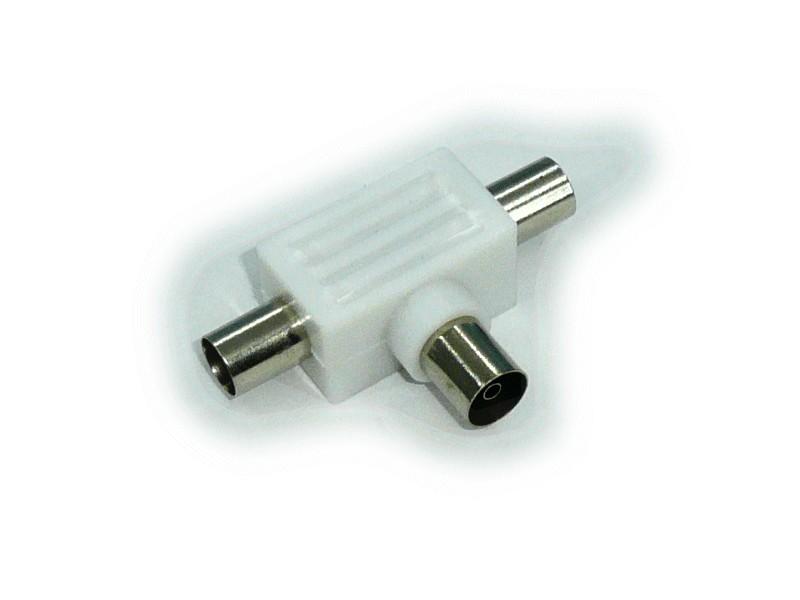 elosztó 1 aljzat ->2 dugó Plasztik házas T-SPLIT FMM/PL