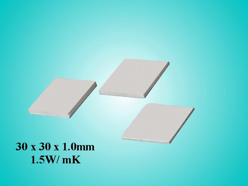 Öntapadós hővezető szalag 30x30x1,0 1,5 W/mK WPG 15-30x30 -