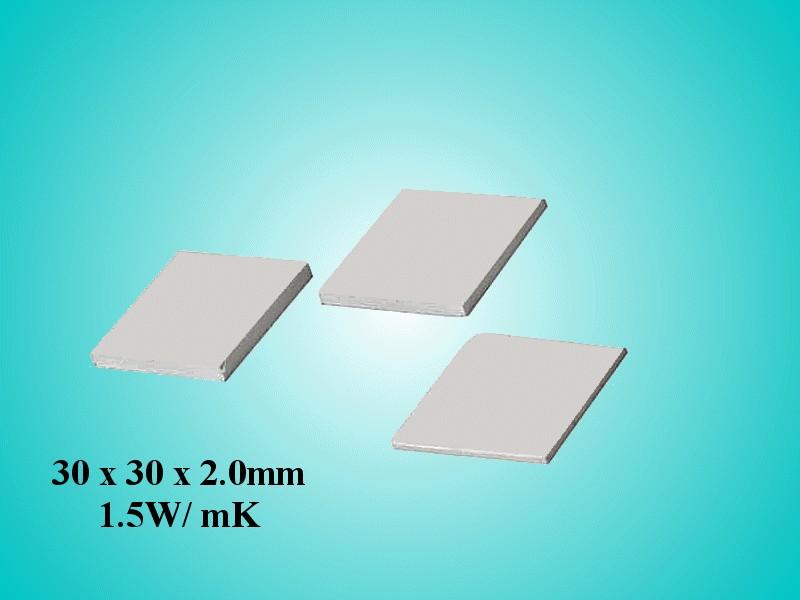 Öntapadós hővezető szalag 30x30x2,0 1,5 W/mK WPG 15-30x30x2 -