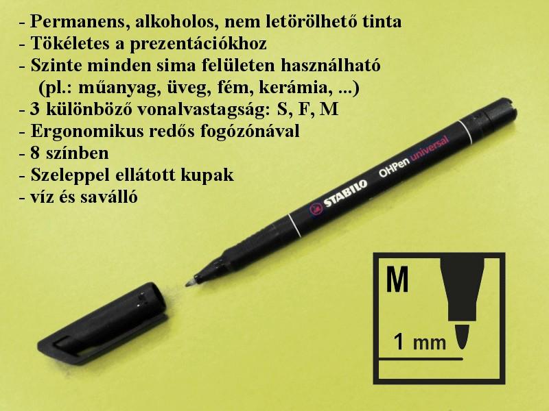 Nyák toll 1.0mm OHP Saválló PPE-PEN003/1.0 -