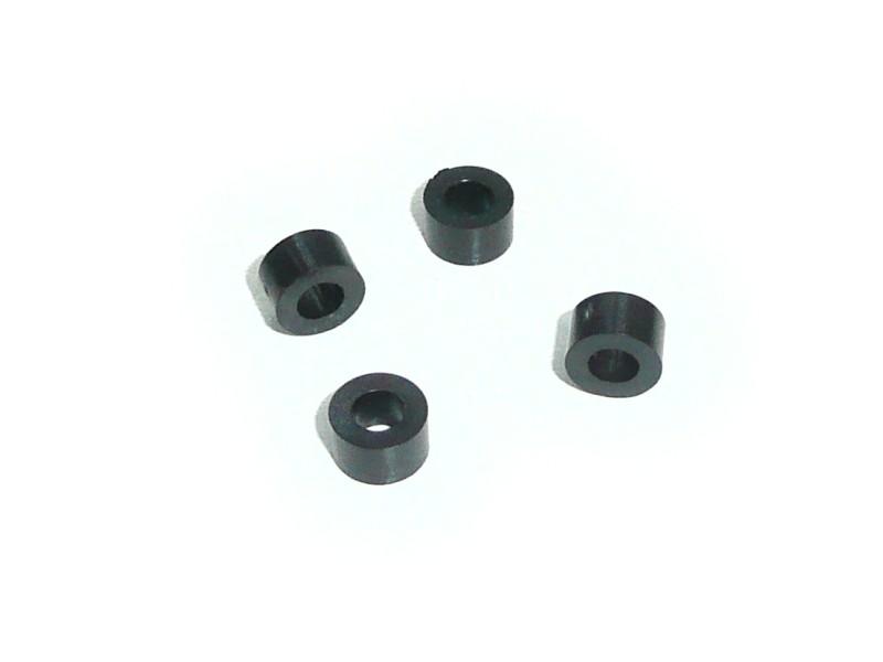 Távtartó 4mm D=7mm furat 3.6mm V-0050403F