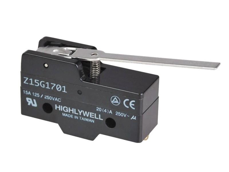 Mikrokapcsoló ON-(ON) 3p. 49x23x17mm SW11523LKH