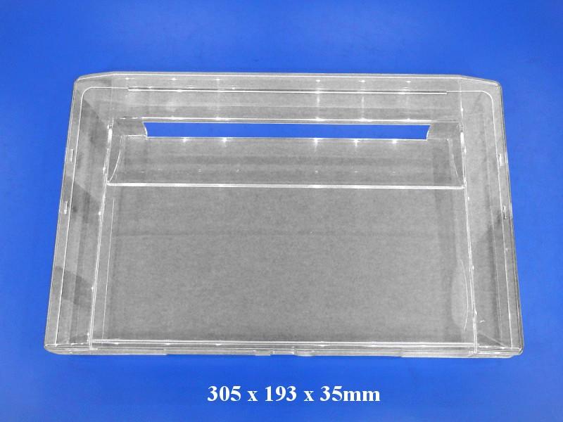 Fagyasztófiók előlap / plexi W8-DA6304044B -