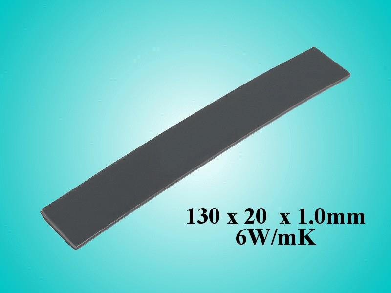 Öntapadós hővezető szalag 20x130x1,0 6W/mK WPG 6-20x130 -