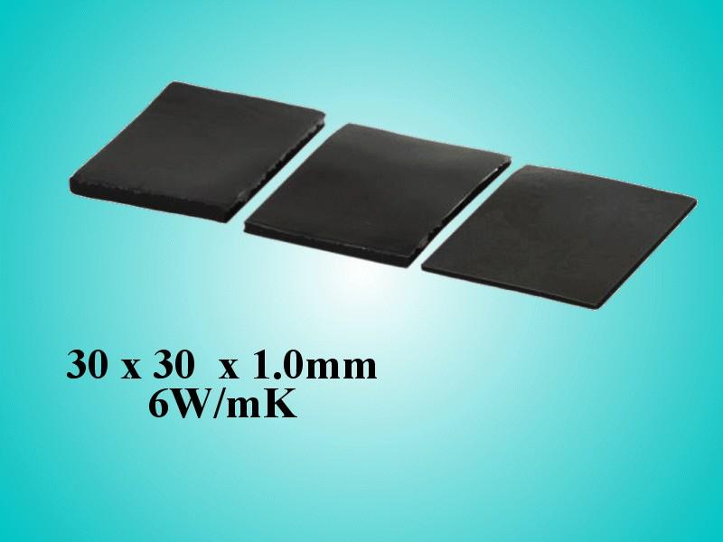 Öntapadós hővezető szalag 30x30x1,0 6W/mK WPG 6-30x30 -