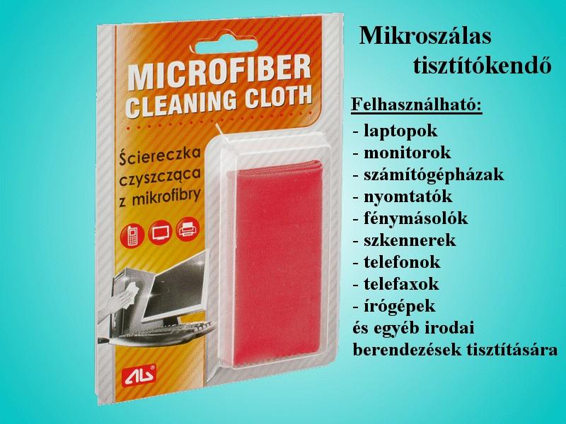 Mikroszálas tisztítókendő