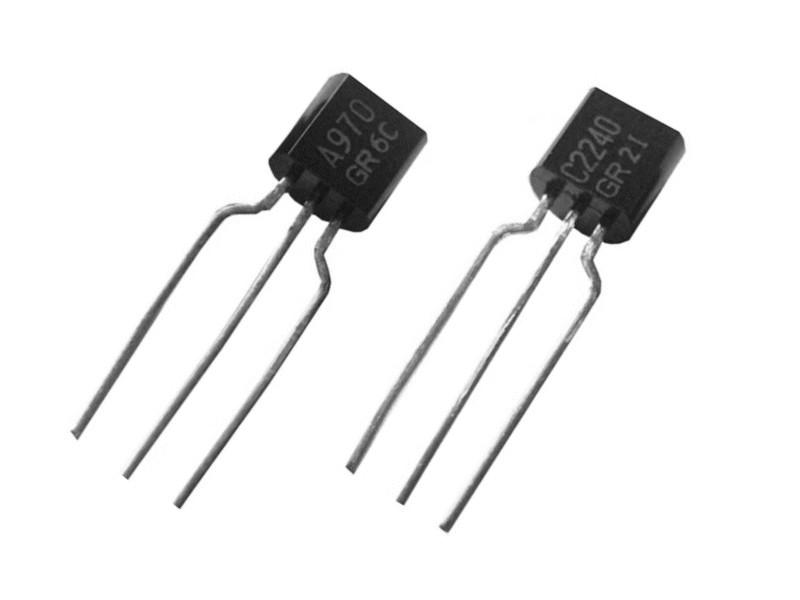 SI-P & SI-N 120V 0.1A 0.3W 100MHz 2SA970 & 2SC2240