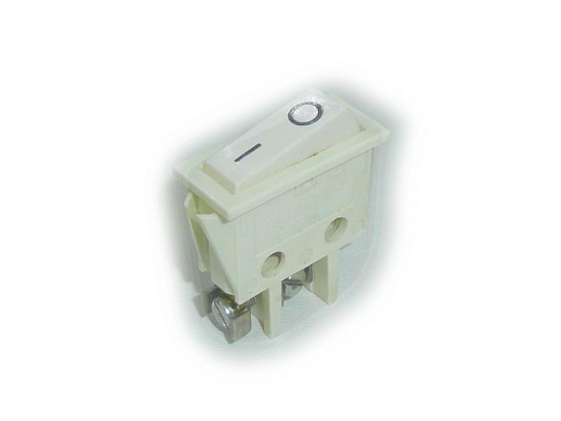 Billenő csontszín I/O 1 áramkörös ON-OFF (csavaros) SW2112CS