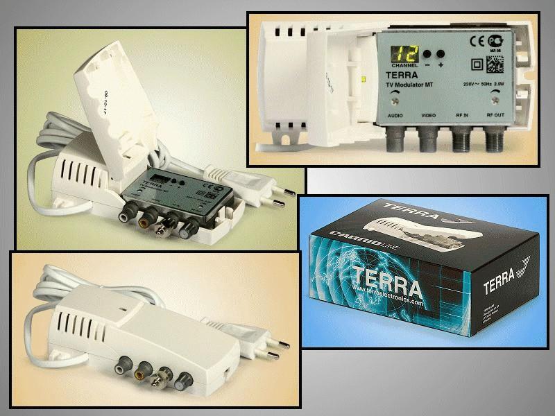 Szintézeres modulátor VHF/UHF MODULATOR MODULATOR 009