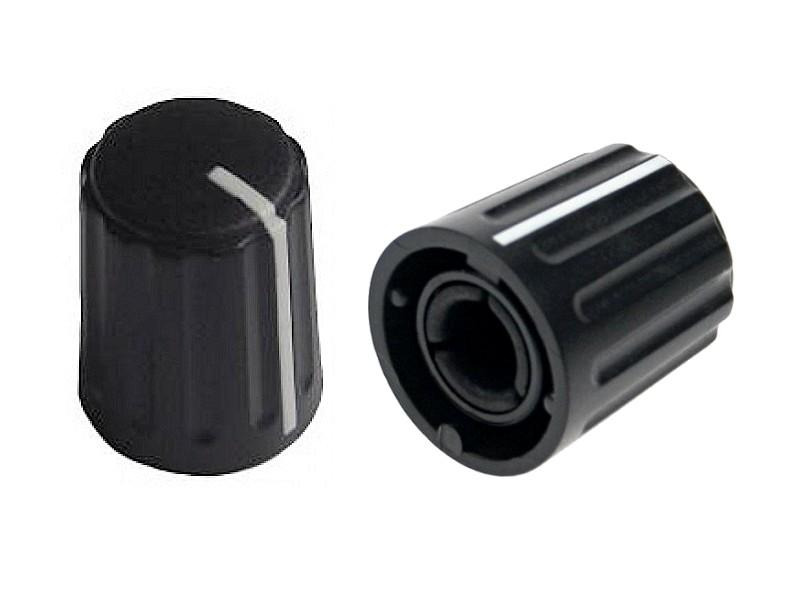 Potméter gomb 17x13.5mm 6mm