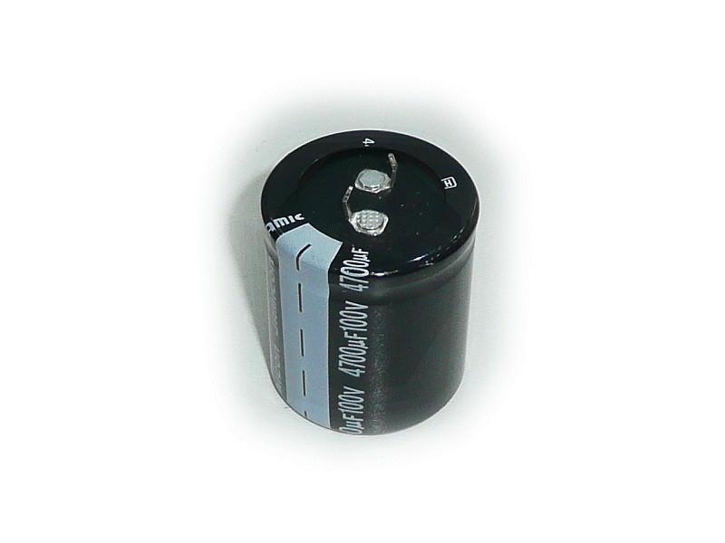 ELKO 4700uF 100V 105°C 35x45 Snap-In 4700/100P-105