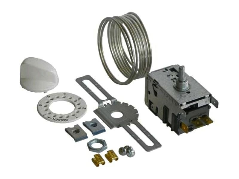 Hűtő, univerzális termosztát, Kapilláriscső: 1300mm W8-09600601
