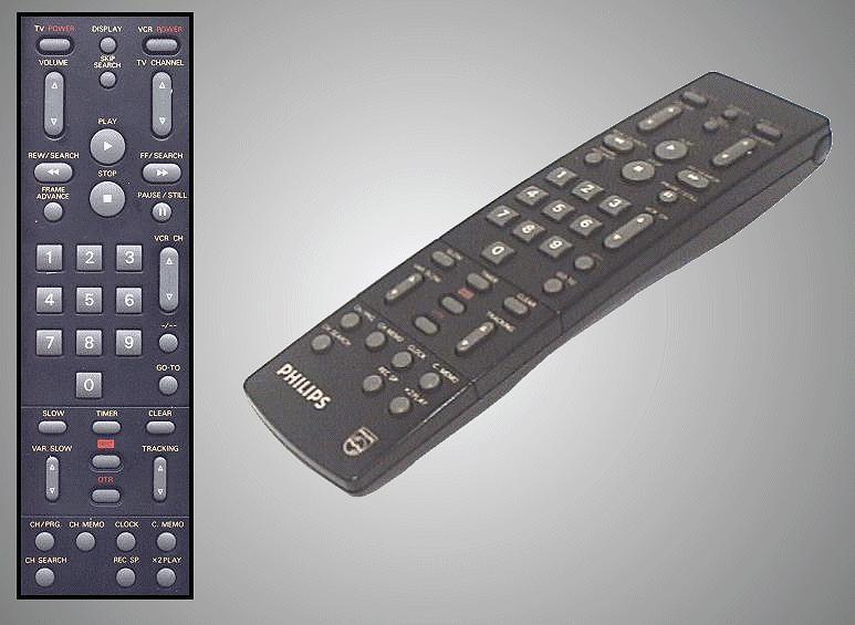 Távirányító VCR  RT442/53 218.30658