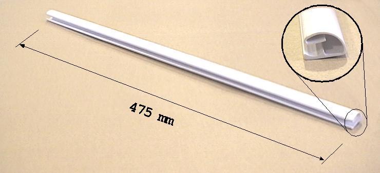 Hűtő műanyag sín RT-37 (hűtő) W8-DA6400588B