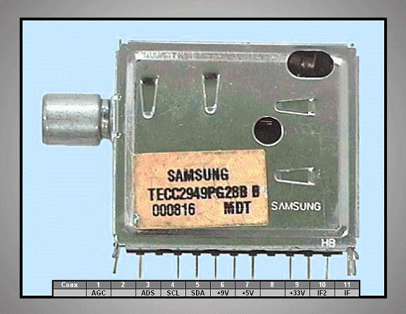 TV TUNER TECC2949PG28B TUNER 004-S54
