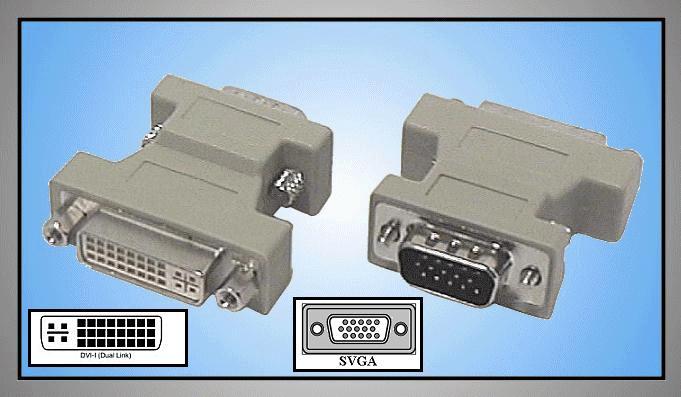 DVI 24+5p. aljzat - D-Sub 15p HD, VGA dugó GC-DVIF15M/HD