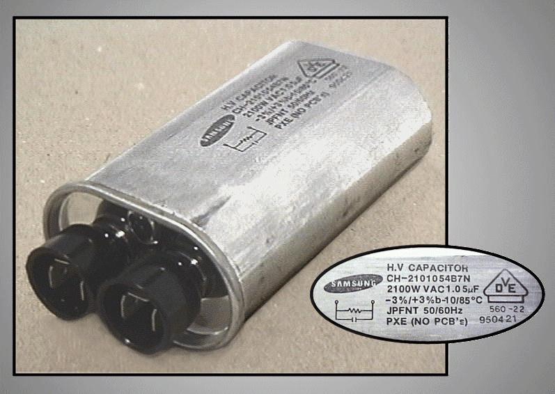 H.V. kondenzátor 1.05uF 2100VAC MW-C1.05/1