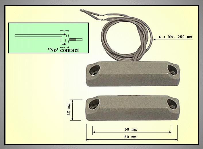REED SENSOR 60mm (mágneses) REED SENS004
