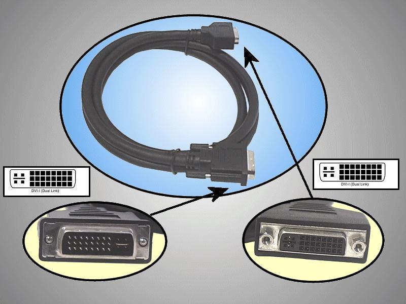 DVI dugó-DVI aljzat D-link 2m CABLE DVIDF+02