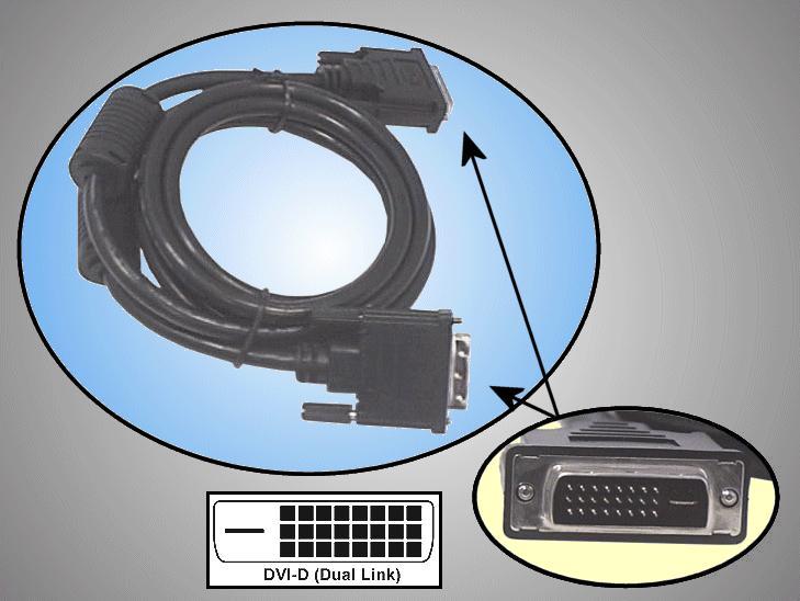 DVI dugó-DVI dugó D-link 24p+1p 1,8m CABLE DVID-01