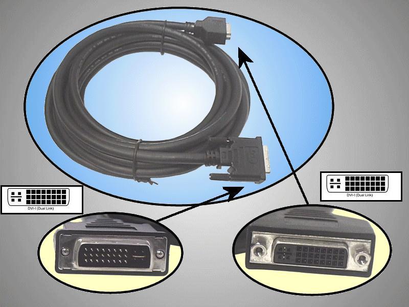 DVI dugó-DVI aljzat D-link 5m CABLE DVIDF+05